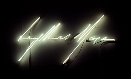 Light is More Neon Sign
