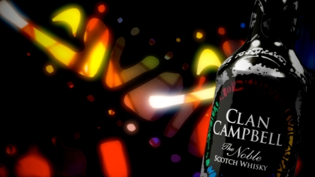 Clan Campbell Bouteille Nuit 2010